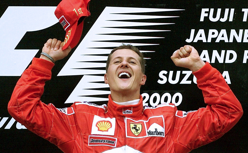 AUTO-F1-JAPAN-SCHUMACHER-PODIUM